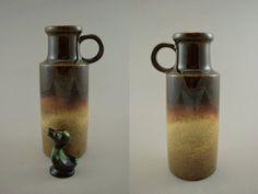 Vintage Vase von Scheurich / 401 20  | West German Pottery | 60er von ShabbRockRepublic auf Etsy