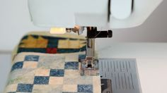 Piecing a quilt with MasterPiece thread