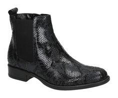Tamaris 25036 zwarte chelsea boots