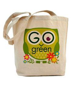 Natural 'Go Green' Tote