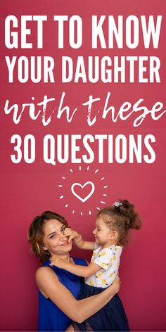 The Perfect Questions To Ask Your Daughter To Grow Closer,Want to spend some - Parenting interests Parenting Toddlers, Kids And Parenting, Parenting Hacks, Mother Daughter Relationships, Mother Daughter Quotes, To My Daughter, Daughters, Fun Questions To Ask, Funny Questions