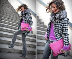 Only Style that matters Pink Fashion, Colorful Fashion, Fashion Outfits, Womens Fashion, Classy Outfits, Winter Outfits, Winter Looks, Casual Chic, Casual Looks