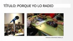 TítuloPorque yo lo radio