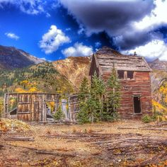 Come explore the old mining towns of Southwest Colorado.