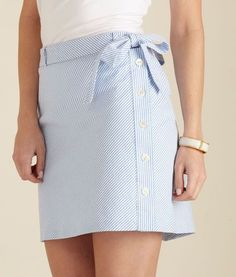 f363e95aa1 Shop for womens skirts for summer from Vineyard Vines. Our Seersucker skirt  goes great with our Shoreline Sleeveless Polo to make the perfect summer  outfit!