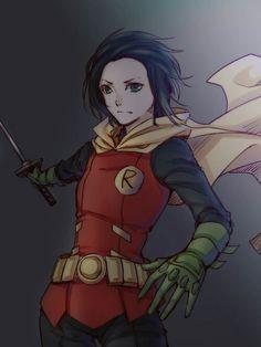 Female Robin Damian Wayne