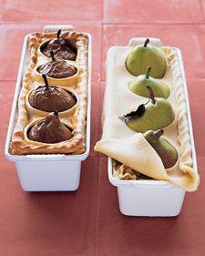 Pear Pie Menu for Fall
