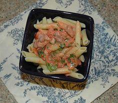 #AmericaMakesDinner  Penne with Arugula in Tomato-Cream Sauce