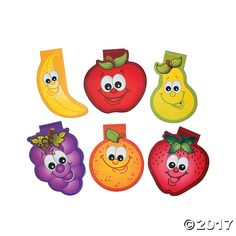 Fruit Die Cut Notepads. Great giveaways for home, church or school! Fruit Die Cut Notepads come in a variety of happy-faced fruit sure to brighten your day. ...