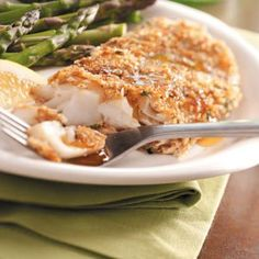 Walnut-Crusted Orange Roughy Recipe -A crispy, crunchy crust and moist, tender fish make this recipe a winner. The dipping sauce is salty-sweet and pairs beautifully with walnuts. Taste of Home Test Kitchen - Greendale, Wisconsin