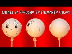 CABEZA PARA FOFUCHO TOTALMENTE CALVO SIN UNIONES - YouTube