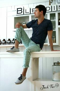 I like the shirt and shoes but I hate the pants. Maybe mint capris with no patterns would be ok.