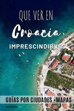 Qué ver en Croacia imprescindibles [Guías por ciudades + Mapa] Hay muchísimos lugares que ver en Croacia imprescindibles. Este país bañado por el mar Adriatico cuenta con playas de ensueño, lugares históricos, lagos de mil colores turquesas, cataratas y pueblos de película. Un país increíble en el que podrías estar viajando semanas sin cansarte. Tras viajar a Croacia por libre en tres ocasiones, aquí te dejo mi listado de lugares que visitar en Croacia imprescindibles Dubrovnik, Road Trip Map, Croatia Travel, Travel Aesthetic, Trip Planning, Wonders Of The World, Life Is Good, Beautiful Places, Places To Visit