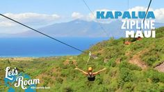 Things to Do in Maui, Hawaii - Kapalua Ziplines - http://live.discoverhawaiinetwork.com/activities/zipline/things-to-do-in-maui-hawaii-kapalua-ziplines/