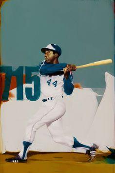 Atlanta Braves. MLB 2014 season. on Behance #art #character #design #model #illustration #expressions #drawing #anatomy #pose #best #cute #face #portrait #background #eyes #hairstyle #gonchar #denisgonchar #nba #nike #sports #basketball #baseball