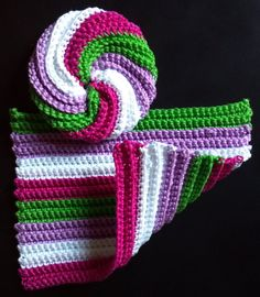 Crocheted Bath Set Wash Cloth and Face by MomDaughterCraft on Etsy, €9.00