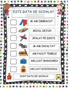 PROGRAM-COPII Class Decoration, Bedtime Routine, Emotional Intelligence, My Job, Team Building, Kids And Parenting, Personal Development, Diy And Crafts, Kindergarten