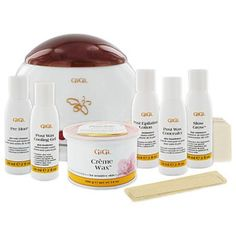 GiGi Home Waxing...Large Selection of Warmers/Products. Best At Home Waxing Product That Is Comparable To Professional Products. Note: The Link Lists GiGi & Other Recommended Waxing Products.
