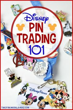 Disney Pin Trading is a fun way to collect souvenir pins from the Disney Parks! Here are the basic tips and guidelines for Disney Pin Trading 101 at Walt Disney World. #WaltDisneyWorld #Disney #DisneyPins #Travel #FamilyTravel #USTravel #DisneySide