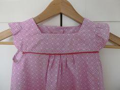 Livre japonais robe modèle A - buste taille 105, jupe taille 100 + 2cm au pli devant et dos + 7cm ourlet - coton - Avril 2018