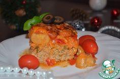 Мясная запеканка с овощами - кулинарный рецепт