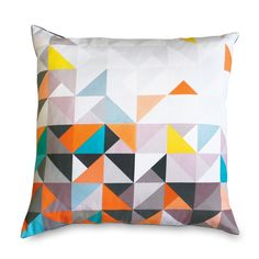 Paulistano Cushion – Multi | Mumo. These colours. These colours are awesome.