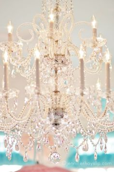 Chandelier- would love one of these for my craft room