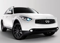 One of my dream cars…Infiniti FX50S Limited Edition, Pearl white
