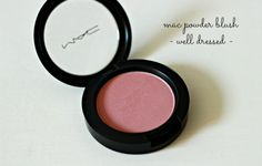 Mac Well Dressed - a super pretty pink blush.