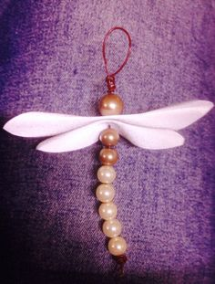 Heijastin Leather Projects, Dragonflies, Projects To Try, Jewelry Making, Brooch, Make It Yourself, Crafty, How To Make, Christmas