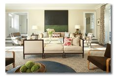 love the simplicity with pattern accents  ditto-worthy designer :: david scott interiors