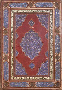 Tezhipli cilt kapağı History Museum, Art History, Islamic Patterns, Rug Patterns, Persian Motifs, Geometry Pattern, Iranian Art, Arabic Art, Paper Dimensions