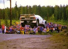 Henri Toivonen and Juha Piironen Lancia Rally 037 Martini Racing 1000 Lakes Rally, 1984 . Sport Cars, Race Cars, Wheel In The Sky, Rally Raid, Martini Racing, Car And Driver, Road Racing, Vintage Racing, Amazing Cars