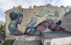 Street Art – The latest creations by Aryz