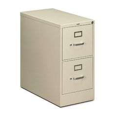 """HON 210 Series Locking Vertical Filing Cabinet - 15"""" x 28.5"""" x 29"""" - Metal - 2 Drawer(s) - Letter - Security Lock, Rust Resistant - Putty by HON Products. $318.75. HON 210 Series Locking Vertical Filing Cabinet - 15"""" x 28.5"""" x 29"""" - Metal - 2 Drawer(s) - Letter - Security Lock, Rust Resistant - Putty Vertical filing cabinet features two drawers, steel ball-bearing suspension, 28-1/2"""" deep files, label holders and a One Key, core-removable lock kit. Hig..."""