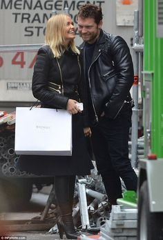 Lara Bingle and Sam Worthington flaunt their love during Parisian trip Dallas Buyers Club, Sam Worthington, Stylish Couple, Celebs, Celebrities, Parisian, Celebrity Style, Winter Jackets, Street Style