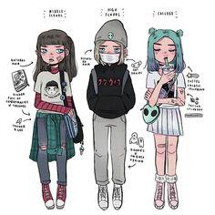 Idk who the artist is, 'cuz dis drawing is amazeballs! Pretty Art, Cute Art, Arte Fashion, Space Girl, Dibujos Cute, Character Drawing, Character Design Inspiration, Cartoon Art, Cute Drawings