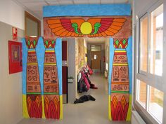 TRABAJAR POR PROYECTOS EN EDUCACIÓN INFANTIL Egyptian Party, African Theme, Night At The Museum, Arts Integration, Egypt Art, Thinking Day, Classroom Themes, Classroom Design, Ancient Civilizations