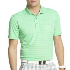 IZOD® Golf Short Sleeve Jacquard Polo Shirt - JCPenney
