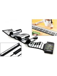 Synthesizer Keyboard Piano that has a flexible deisgned that can be rolled up also features 88 Soft Keys and a Loud Speaker Mens Gadgets, High Tech Gadgets, Latest Gadgets, Cool Gadgets, New Technology Gadgets, Music Gadgets, Electronics Gadgets, Keyboard Piano, Flexibility