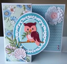 Marianne Design Cards, Owl Punch, General Crafts, Picture Cards, Card Sketches, Love Cards, Greeting Cards Handmade, Animal Pictures, Cardmaking