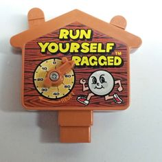 Run-Yourself-Ragged-by-Tomy-TIMER-ONLY-Replacement-Part-Tested-Works