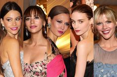 Trend Alert: Schiap Pink Lips Rule the Met Gala: Daily Beauty Reporter: Daily Beauty Reporter: allure.com