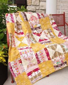 Gypsy Road Quilt Pattern at Connecting Threads