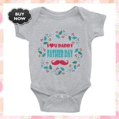 My Father Day | Father's Day | Happy Father's Day | DADDY | DAD | Father's Day Infant Bodysuit #FatherDay #IAmTheQueen #MyQueenCase #SeptemberBirthday #QueenMothersDay #QueenOfSeptember #dad #SweetMothers #SweetMothersDay #DADDY Happy Fathers Day Daddy, My Father, September Birthday, Mom Day, Baby Bodysuit, Infant, Trending Outfits, Dads, Stuff To Buy