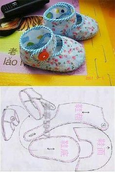 me ~ Pin on Baby Girl Shoes ~ New Simple Booties Booties Template for all who love this .- Neuen Einfache Babyschuhe-Booties-Vorlage für alle, die diese schöne … New Simple Booties Booties Template for anyone who loves this beautiful … - Doll Shoe Patterns, Baby Shoes Pattern, Baby Patterns, Clothing Patterns, Dress Patterns, Baby Boots, Baby Girl Shoes, Sewing For Kids, Baby Sewing