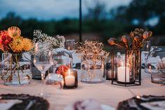 Photographer: Hugo Coelho Fotografia (@hugocoelhofotografia on Instagram) Flowers and coordination: Rebecca at Runaway Romance (@runaway_romance on Instagram) Bush Wedding, Running Away, Romance, Table Decorations, Flowers, Instagram, Home Decor, Fotografia, Romance Film