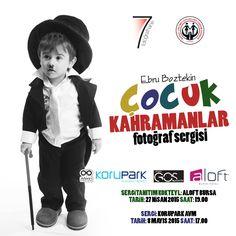 Ebru Boztekin'in Çocuk Kahramanlar fotoğraf sergisi tanıtım kokteyli 27 Nisan Pazartesi günü saat 19:00'da Aloft Bursa'da!   #aloftbursa #aloftlive #çocukkahramanlar #fotoğrafsergisi