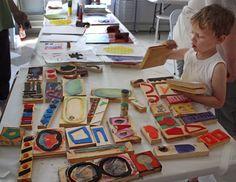 M J Bronstein collaborative printing cmca art 15 - Katina Skilling Kindergarten Art, Preschool Art, School Art Projects, Art School, Stamp Printing, Art Lessons Elementary, Collaborative Art, Process Art, Art Party