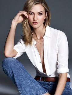 fashion-choices:  Karlie Kloss by Nino Muñoz   Flare Magazine September 2015